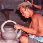 Pottery-making at Kam-Oa village, near Ban Chiang