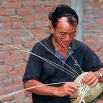 Basket weaver, Ban Nong Hoi Yai village