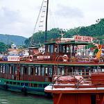 The Kangaroo Cafe Minh Quang sets sail for Halong Bay.