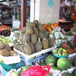 Pineapples from Malaysia.