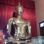 The solid gold Buddha at Wat Traimit weighs 5.5 tons.