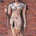 """Normally, Buddha statues are sitting, standing, or reclining. Sukhothai introduced a new, more dynamic """"walking Buddha."""""""