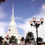 Chedi of Wat Yan, near Pattaya, Thailand.